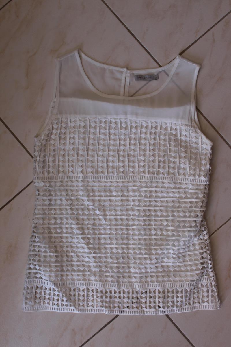155f62d48 Blusa Com Renda - Off White - Usado - R$ 29,00 em Mercado Livre