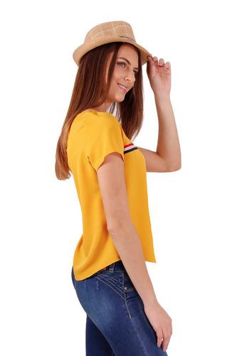 blusa con tira mostaza by aspik