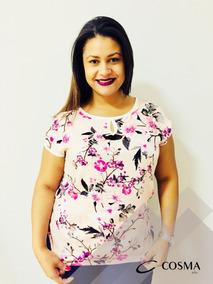 c945d572dc Cosmos - Camisetas e Blusas para Feminino no Mercado Livre Brasil