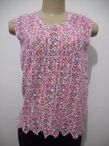 1ebdd3ffcc9288 Blusa De Croche Tunica Da Usado no Mercado Livre Brasil