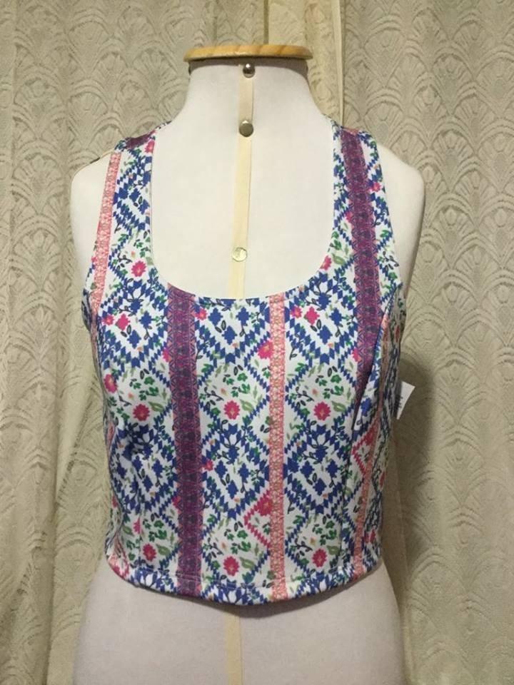 e6cafa0c162 Blusa Cropped Boho Color Renner Tamanho M !!! - R  34