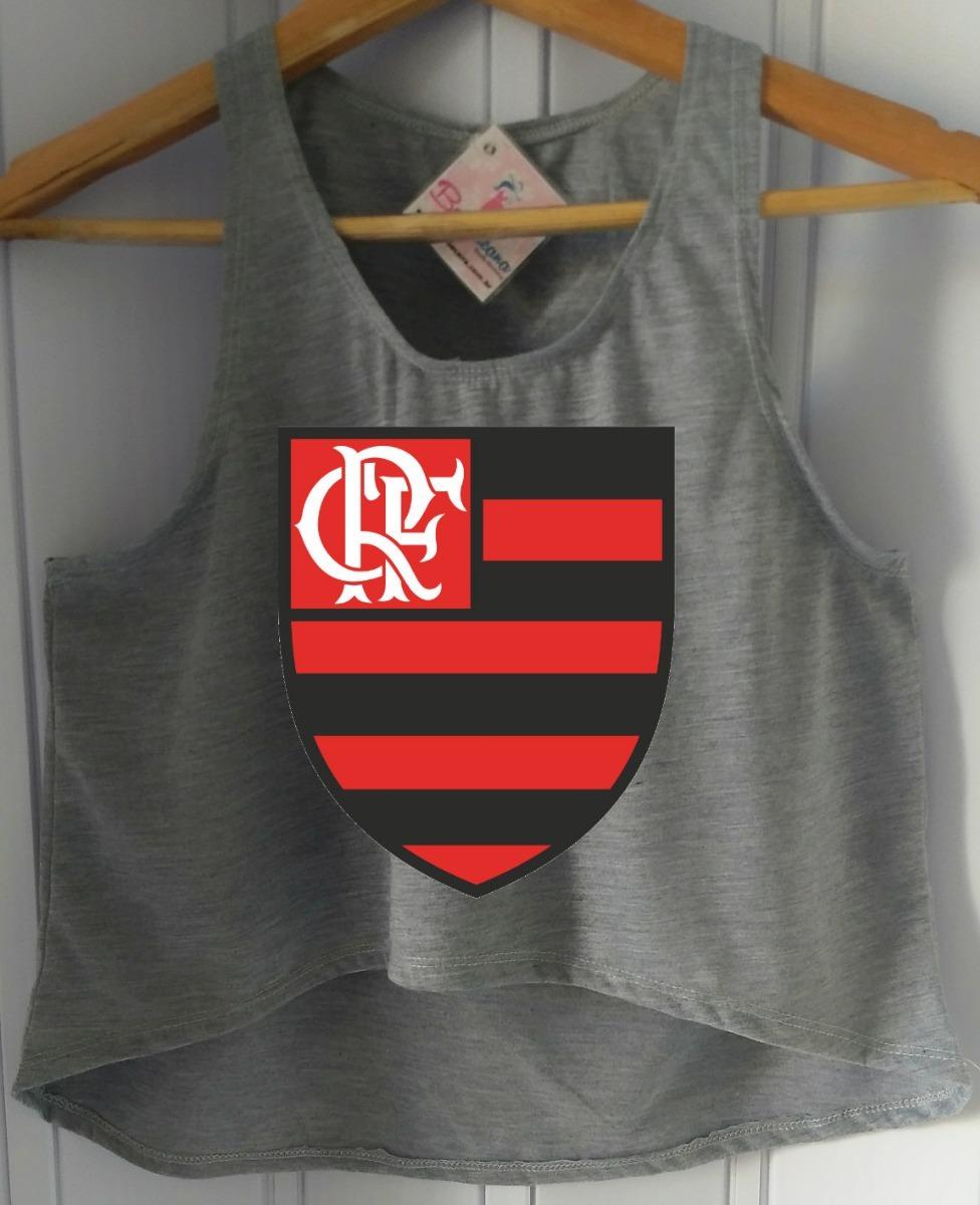 54c13b9417936 blusa cropped flamengo regata feminina time futebol barato! Carregando zoom.