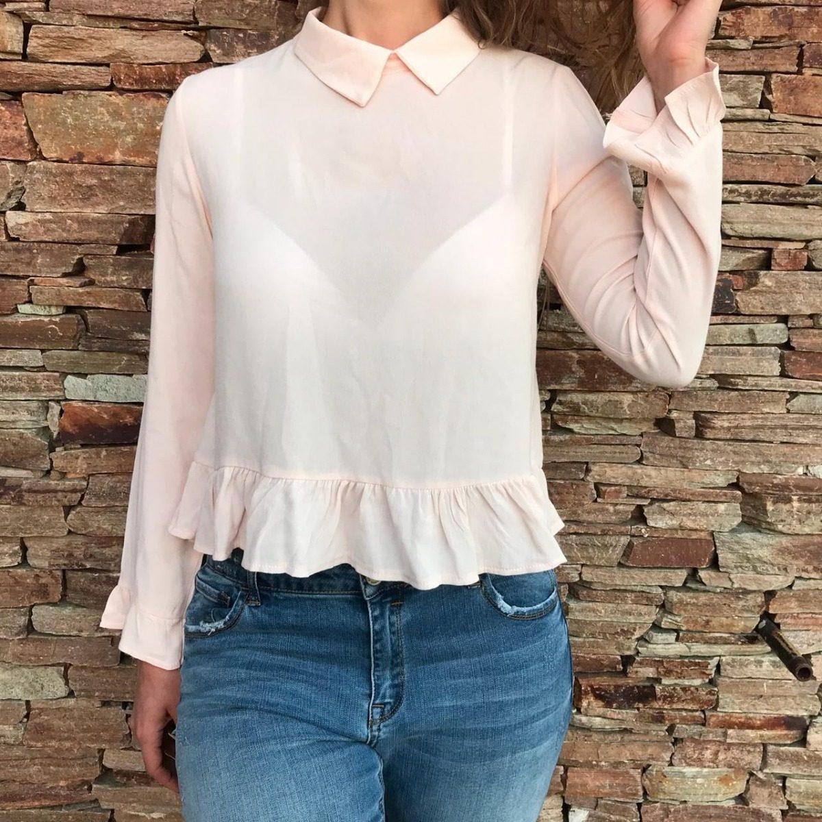 moda cuello zoom mujer 2018 Cargando otoño volados blusa camisa invierno tOqH7fw