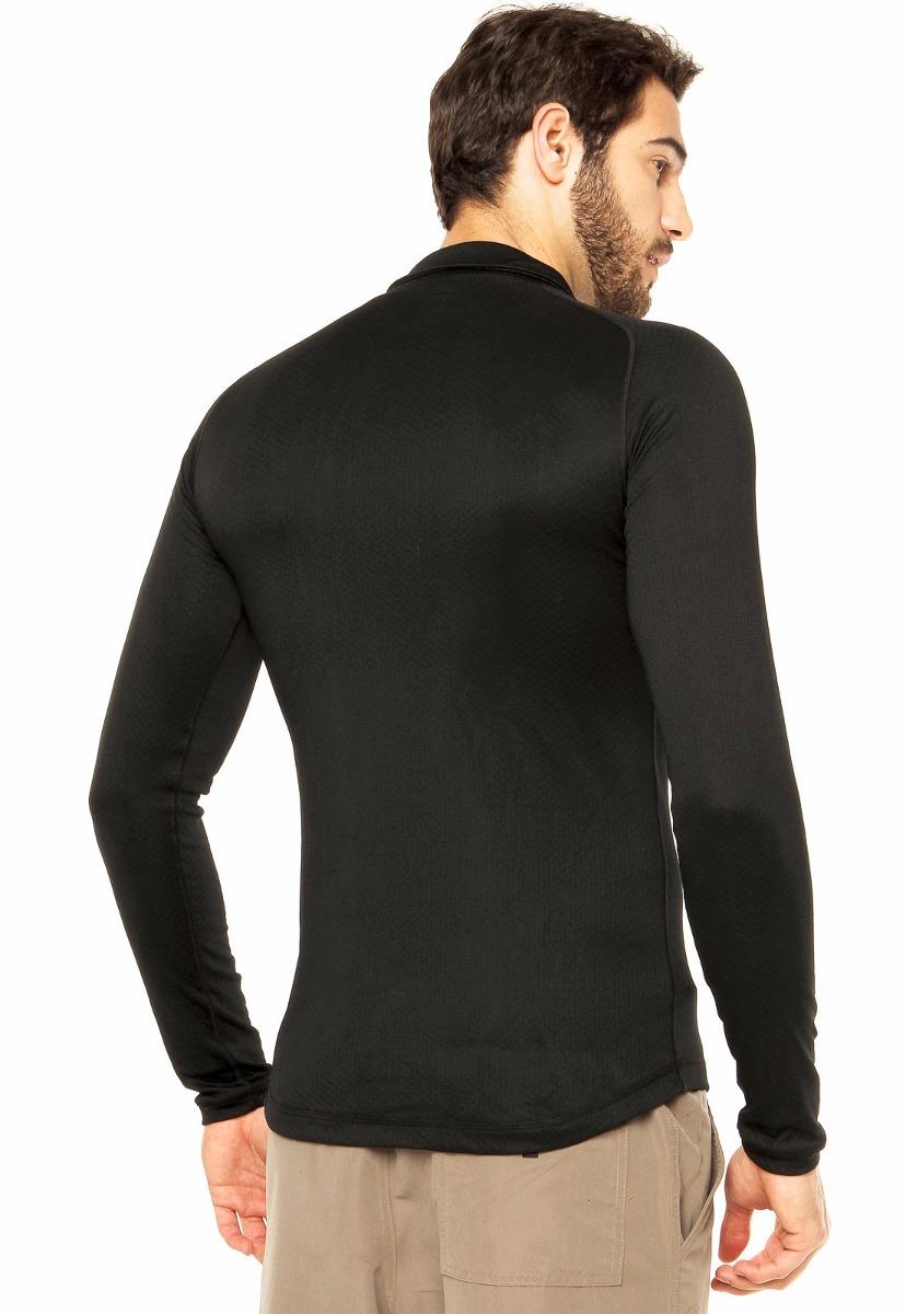blusa curtlo segunda pele térmica zip thermoskin preta. Carregando zoom. 7aa692fa5053d