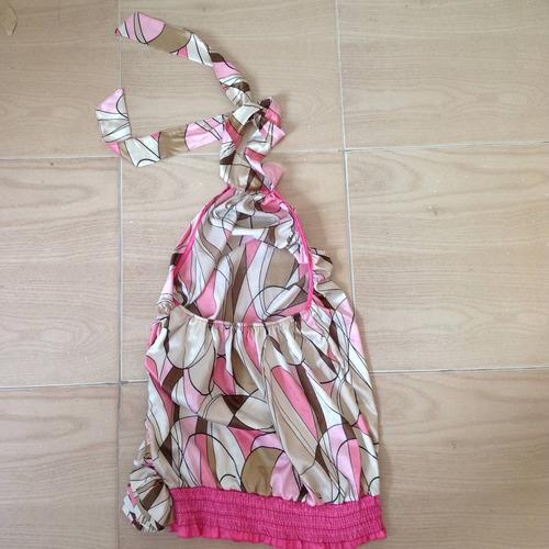 blusa dama en liquidación estampada