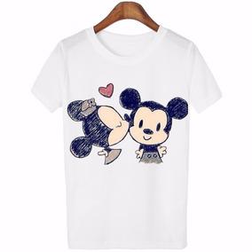 620657755 Blusa Dama Mickey Mouse Personajes Disney Agradable Suave