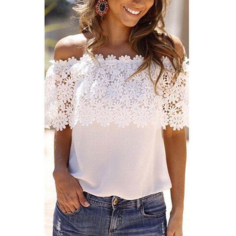 e9f8ff0955 blusa dama moda strapless con encaje importada para l o xl. Cargando zoom.
