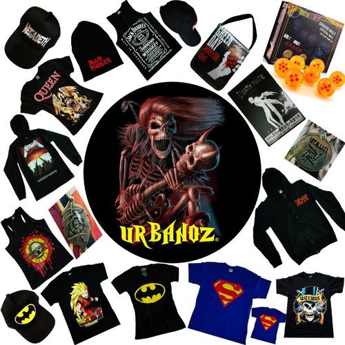 blusa dama rock metal ac dc estampada tienda urbanoz