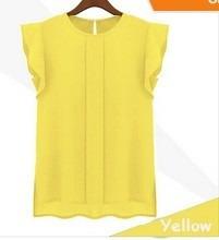 blusa de chiffon com prega importada (pronta entrega)