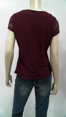 blusa de encaje talla s nuewa e importada