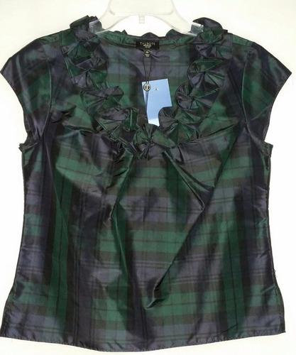 blusa de festa 100% tafeta de seda  importada!!!
