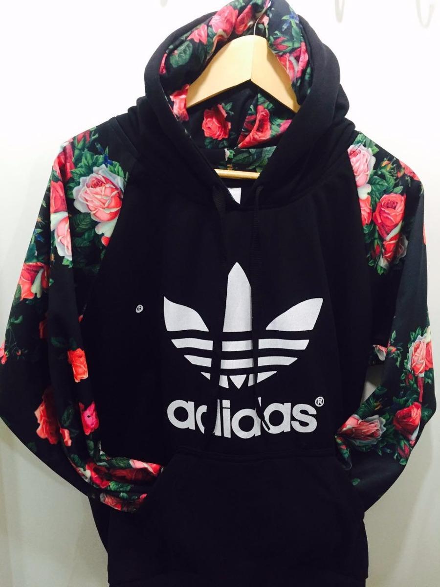 8415cab3401 blusa de frio adidas floral masculino. Carregando zoom.