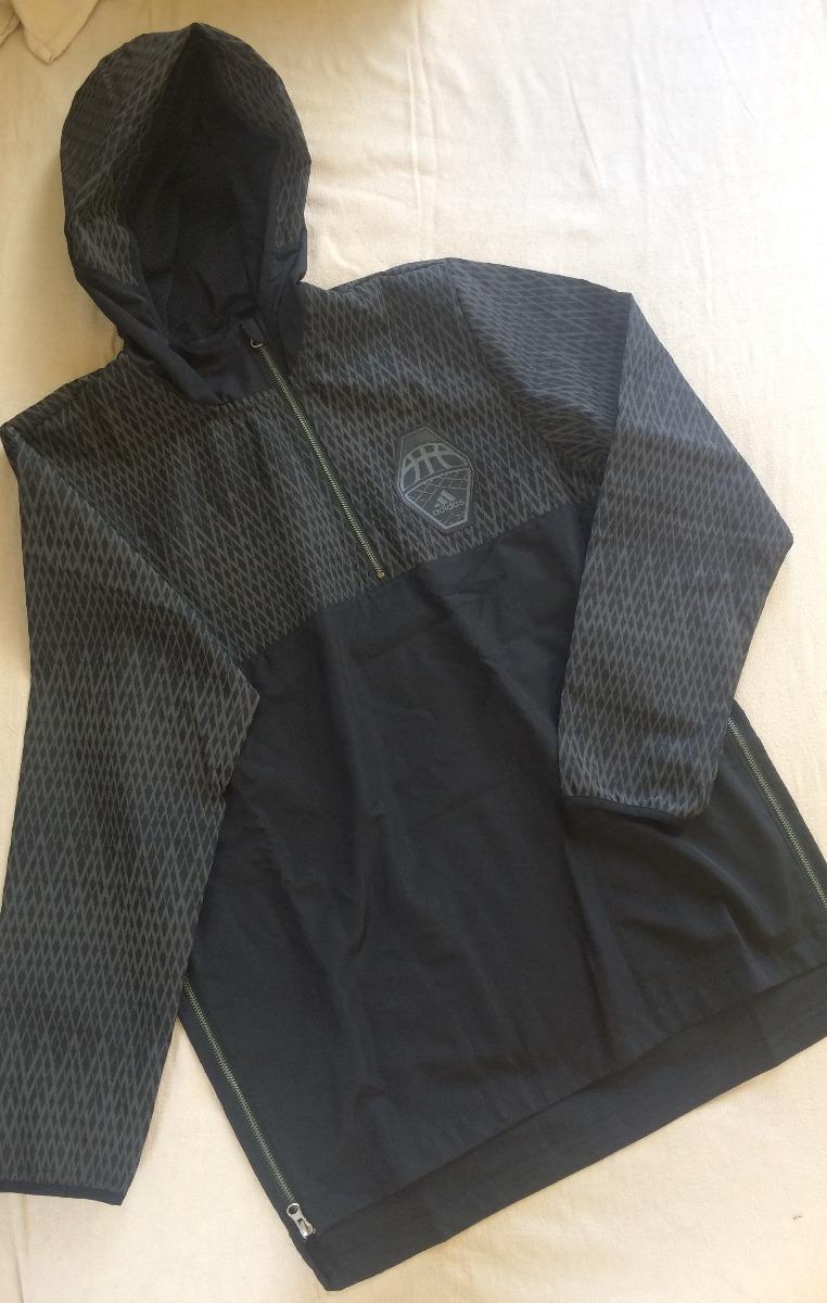 22f63d50587 blusa de frio adidas hero breaker 2 original preto. Carregando zoom.
