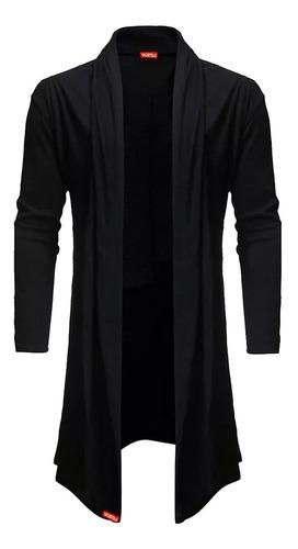blusa de frio cardigan masculino + luva + touca beanie