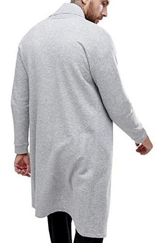 blusa de frio cardigan masculino sobretudo b22 swag