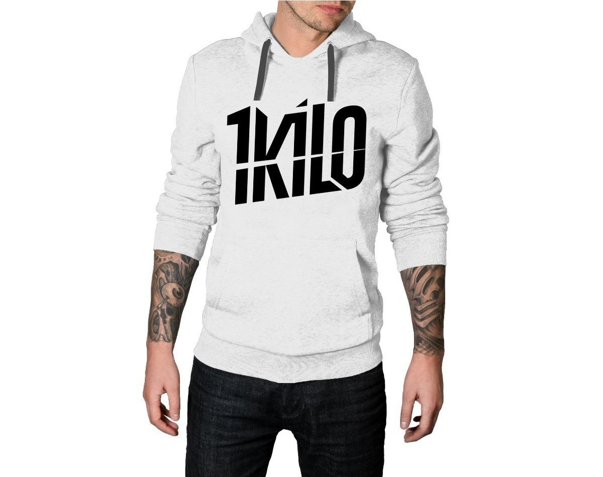 57029f1aa Blusa De Frio Casaco Moletom Hip Hop 1 Kilo Unissex Capuz - R$ 54,97 ...
