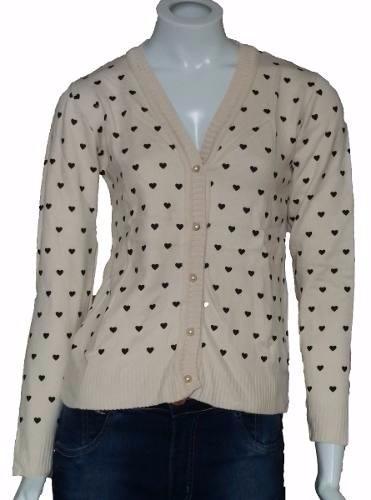 ccfe44565 Blusa De Frio Feminina Casaco Cardigan Suéter Lã Trico Kit 4 - R ...
