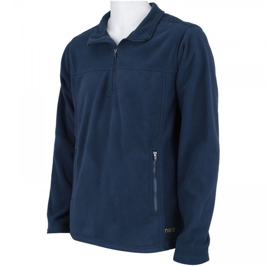 blusa de frio fleece nord outdoor basic - azul esc verde cla. Carregando  zoom. db889a08a09