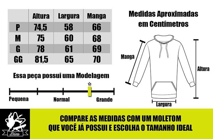Blusa De Frio Hurley Mod3 Moletom C  Capuz E Bolso Canguru - R  59 ... dd40ae376a5