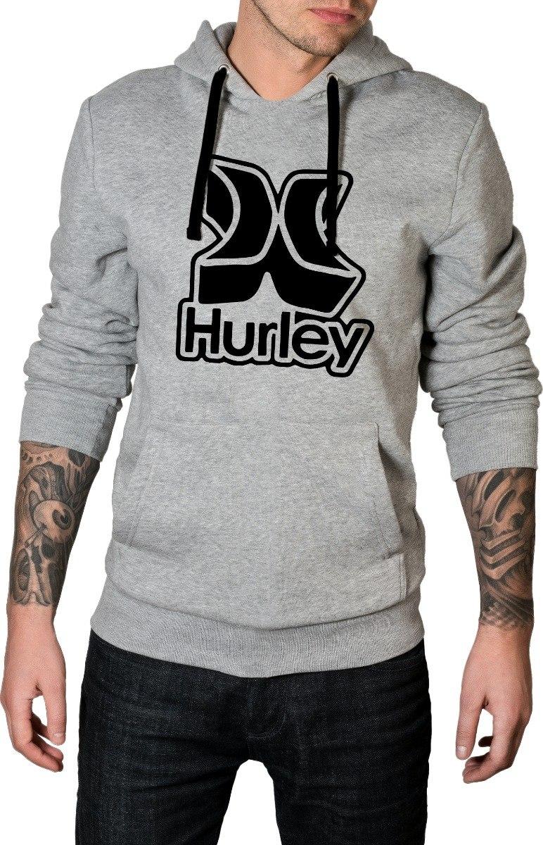 blusa de frio hurley mod3 moletom c  capuz e bolso promoção. Carregando  zoom. cf5ffd53dd2