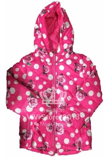 blusa de frio infantil feminino menina capuz revestido top