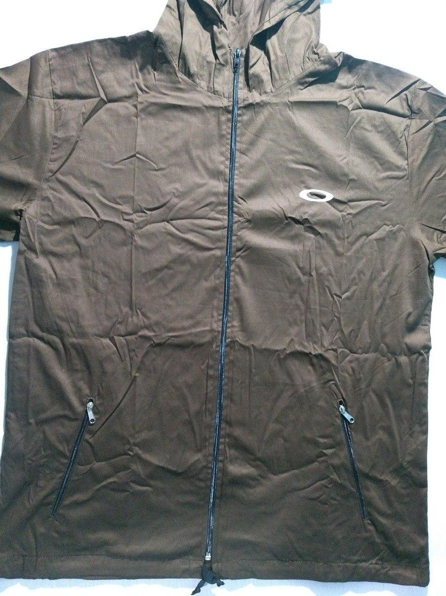 Blusa De Frio Jaqueta Corta Vento Oakley Blusa Tactel Toca - R  54 ... b5629b6559d