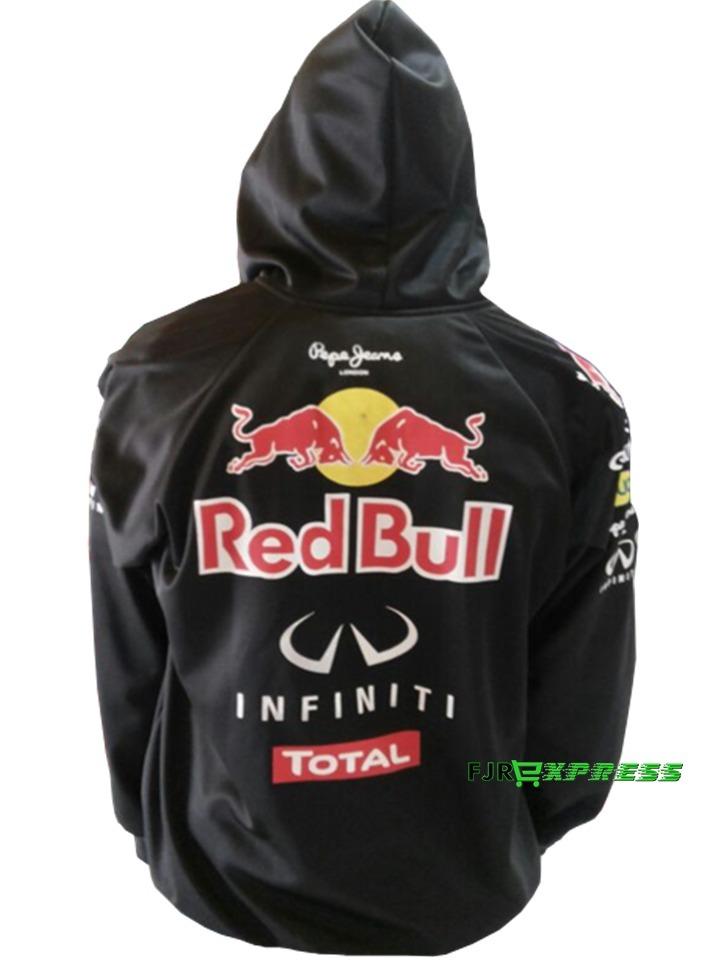 blusa de frio jaqueta red bull capuz f1 estilo corta vento. Carregando zoom. 914e1536a79