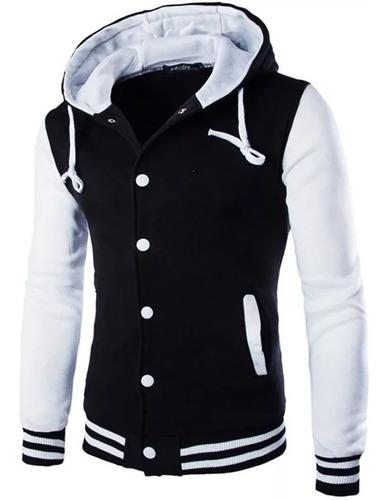 blusa de frio masculino - casaco college b07 original