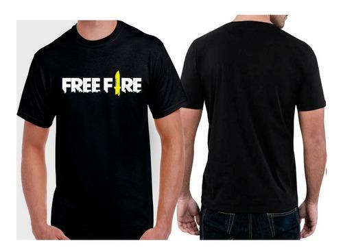 blusa de frio moletom + camiseta free fire