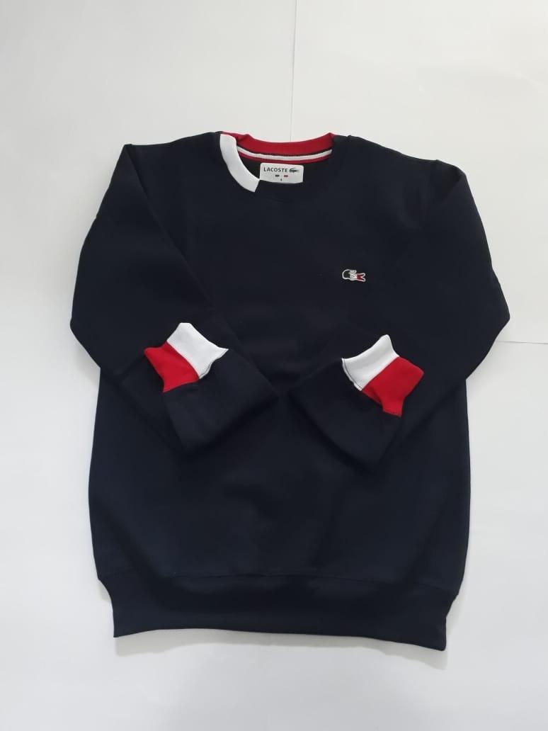 5f4f82adf1b blusa de frio moletom feminina lacoste importada peruana top. Carregando  zoom.