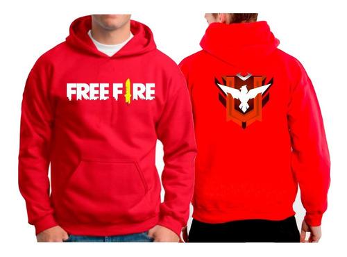 blusa de frio moletom free fire mestre