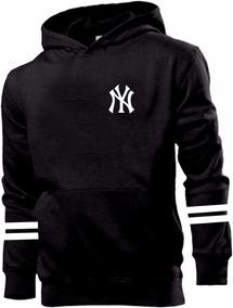 20e6a4dbb05d77 Blusa De Frio Moletom New York Yankees Baseball