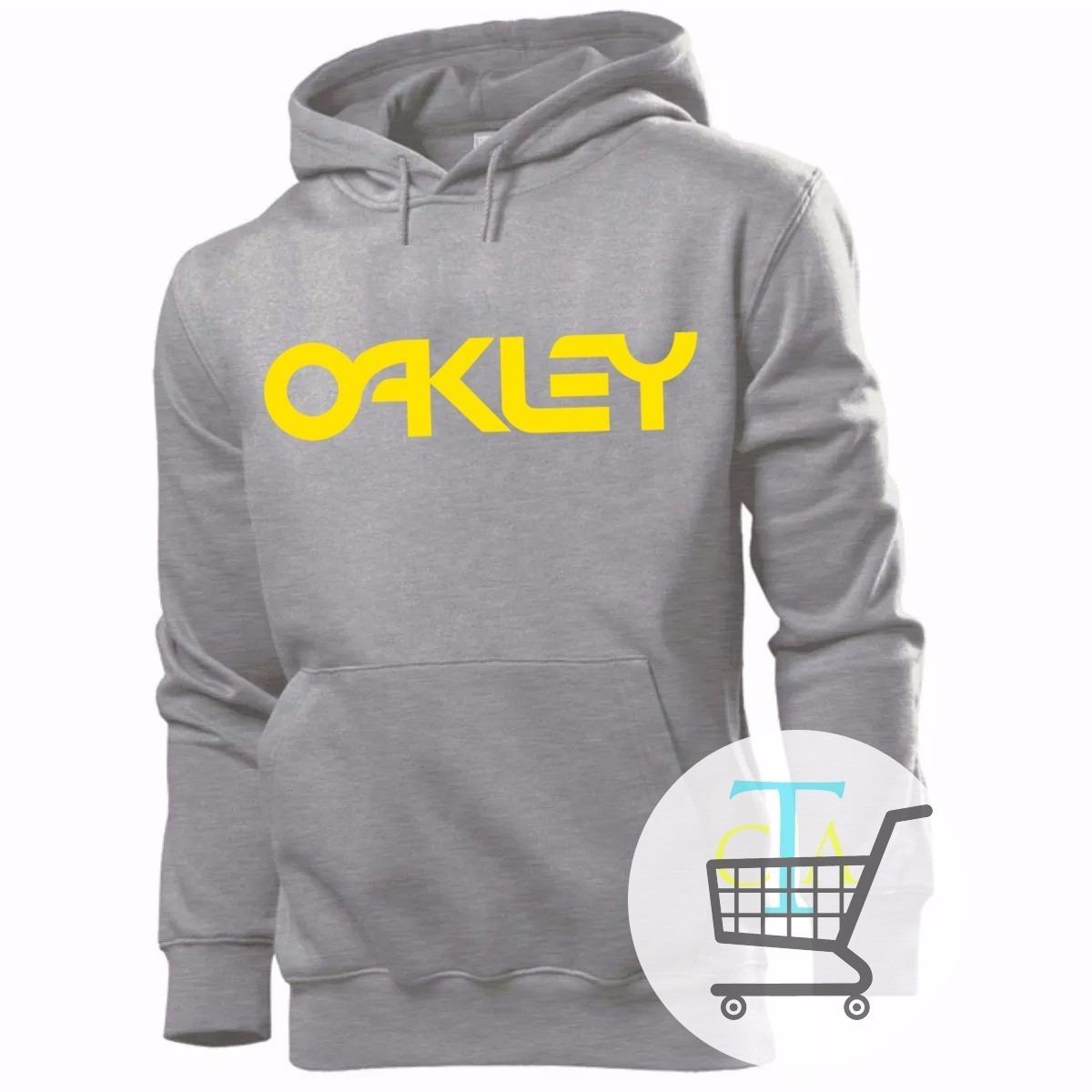 Blusa De Frio Moleton Oakley Moletom Casaco - R  60 6e324857d14