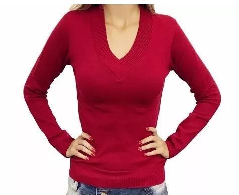 blusa de frio suéter lisa gola roupas femininas barato 2018