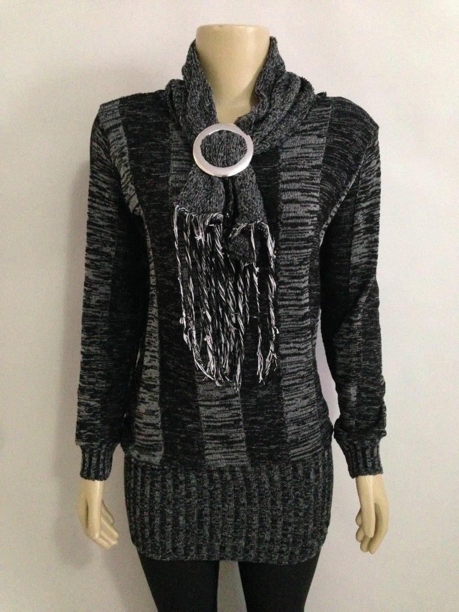 73c66a455 blusa de frio tricot trico cacharel roupas femininas inverno. Carregando  zoom.