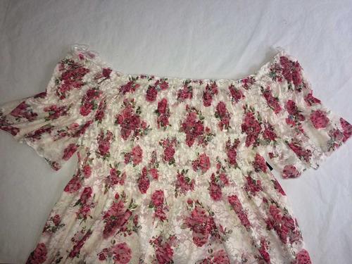 blusa de gasa tale xxl