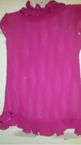 blusa de gaza divina xl no se arruga larguita!!!