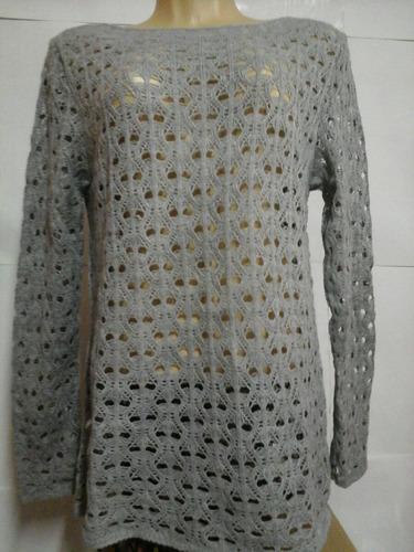 blusa de linha vazada
