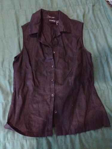 blusa de lino dama talla g