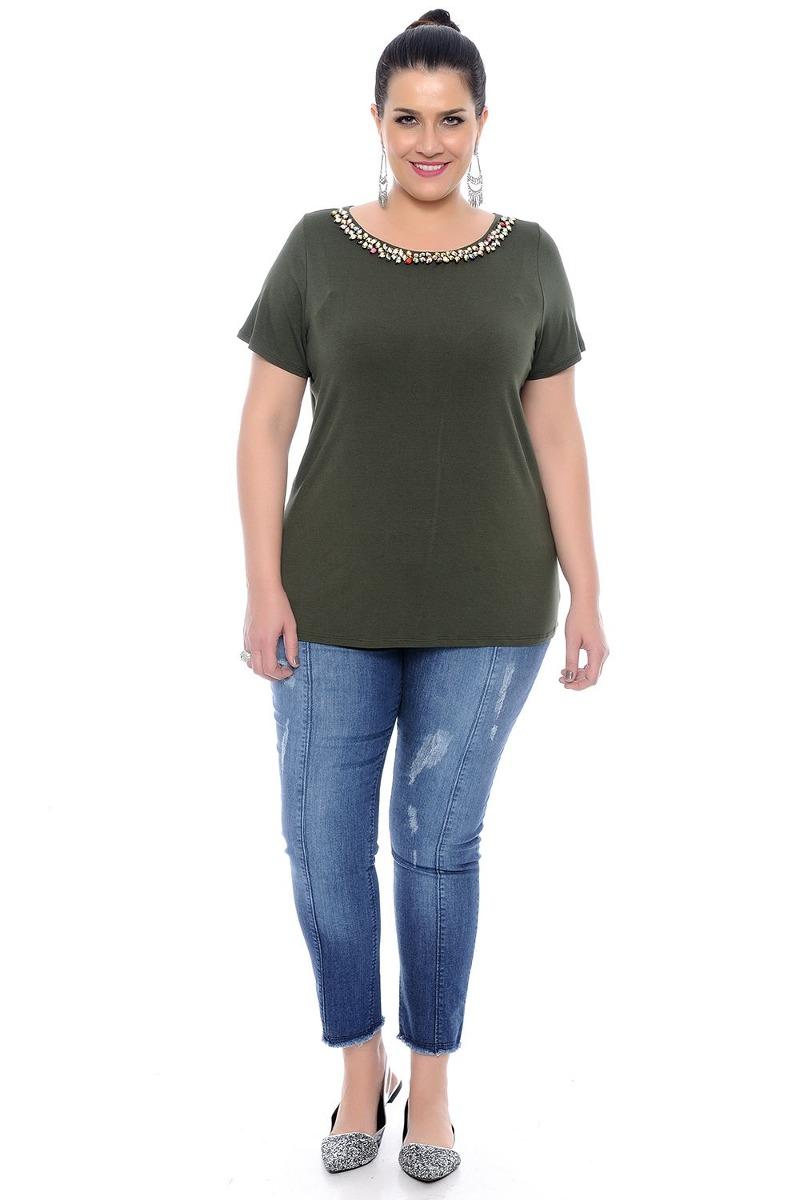 27d1167a1b blusa de malha feminina tamanho grande 60. Carregando zoom.
