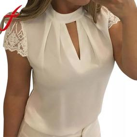 675b61930c Blusas Con Cuellos Decorados Moda - Ropa y Accesorios en Mercado ...