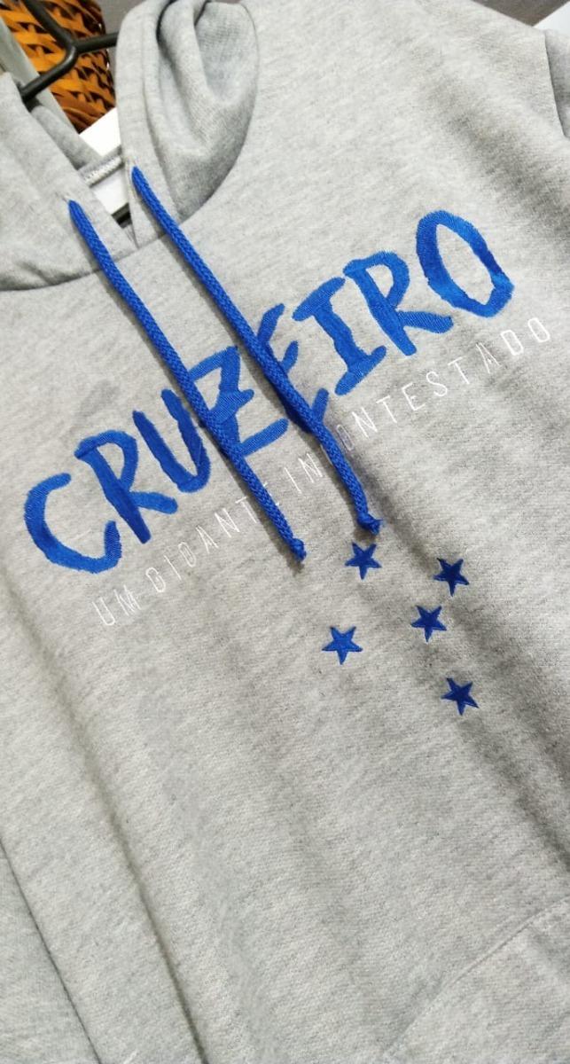 4b6823ecc2 Blusa De Moletom - Cruzeiro