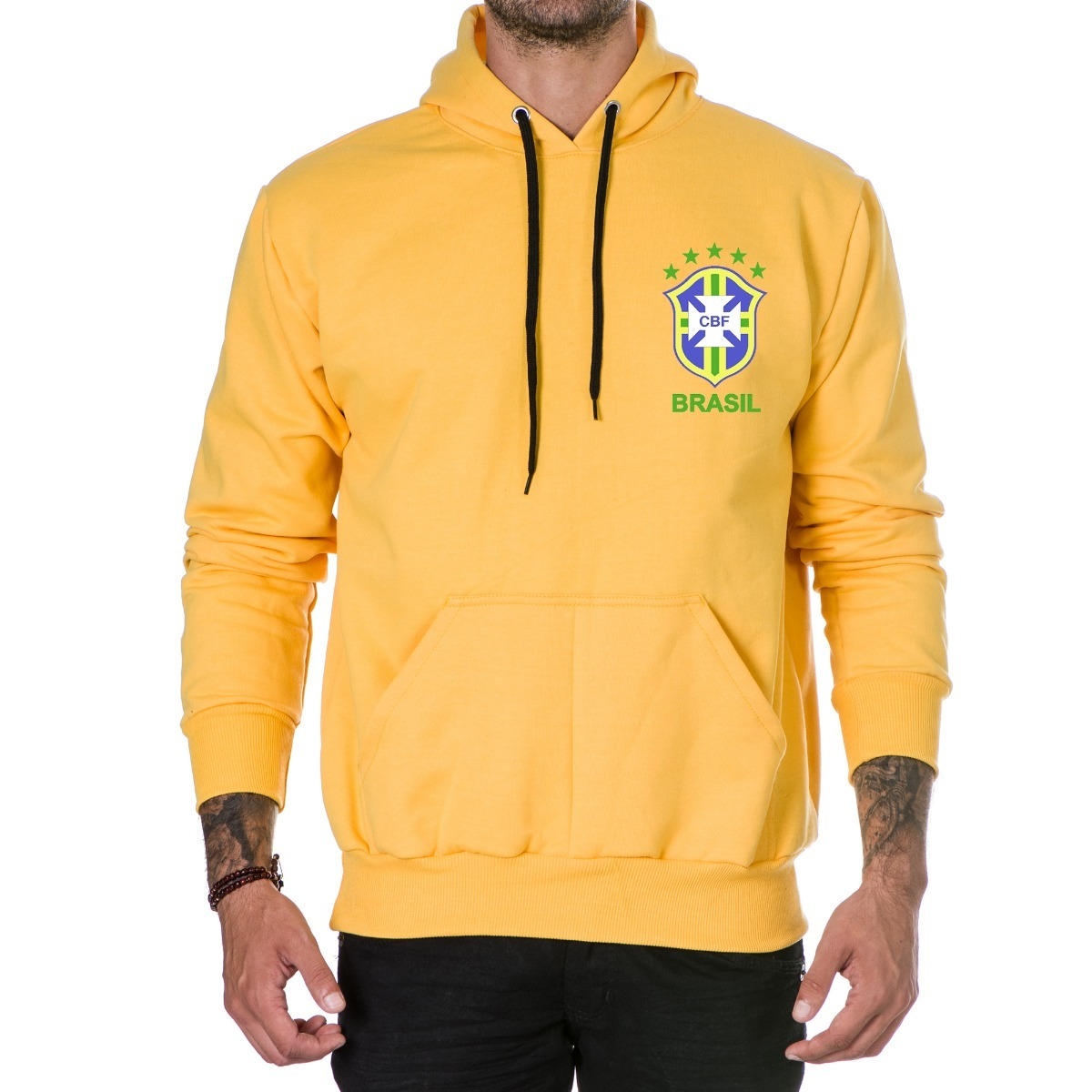 2643bc489e blusa de moletom p  frio brasil especial seleção brasileira. Carregando zoom .