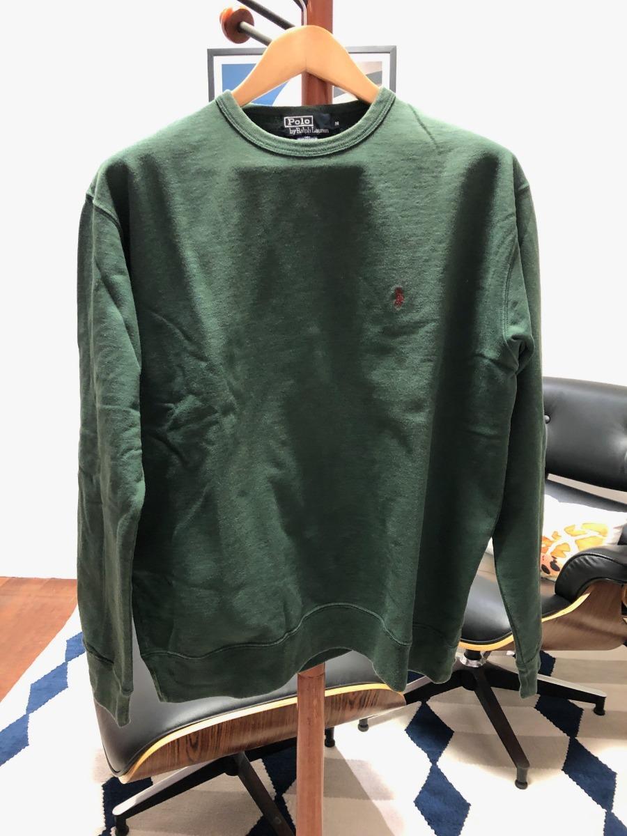 blusa de moletom polo ralph lauren original verde tamanho m. Carregando  zoom. b990889240d
