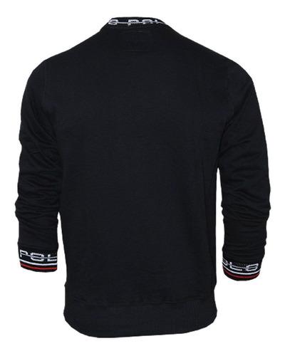blusa de moletom polo rg518