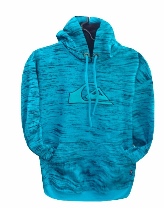 Blusa De Moletom Quiksilver Azul Bb Rajada - R  120,00 em Mercado Livre 54989a00a9