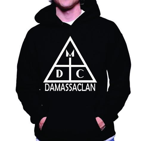 blusa de moletom sabotage racionais damassaclan rap nacional