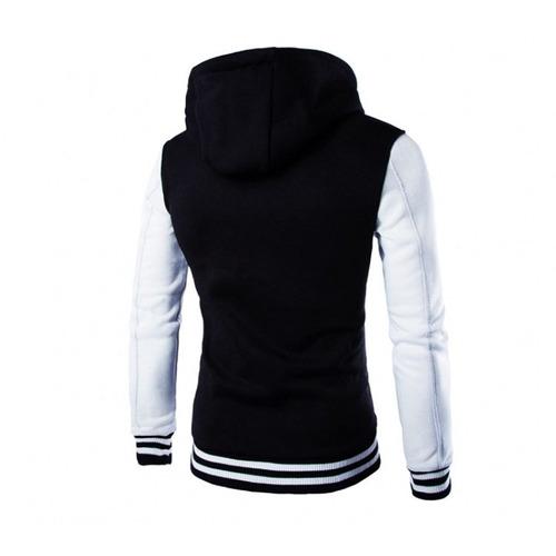 blusa de moletom slim fit school - casaco college vcstilo