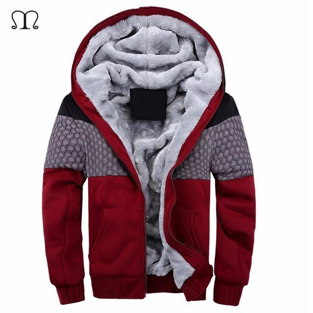 Blusa De Moleton Masculino Forrada Outono inverno Com Capuz - R  199 ... 89de49d49162a