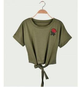 De Blusa Mujer Camisetas Moda Moño Dama 0wk8OPXn
